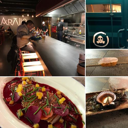 ARALLO TABERNA | Cocina gallega fusión en formato de gran barra