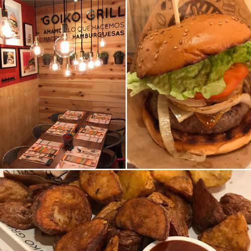 GOIKO GRILL | Hamburguesas de autor con carne excelente