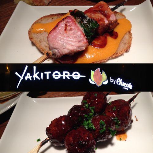 YAKITORO | Brochetas de cocina fusión por Chicote