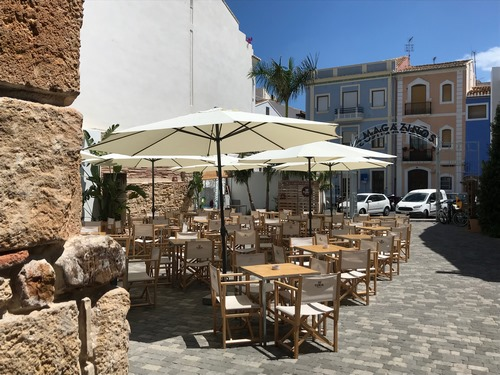 A LA FRESCA (Dénia) | Platos mediterráneos en el Mercado Els Magazinos
