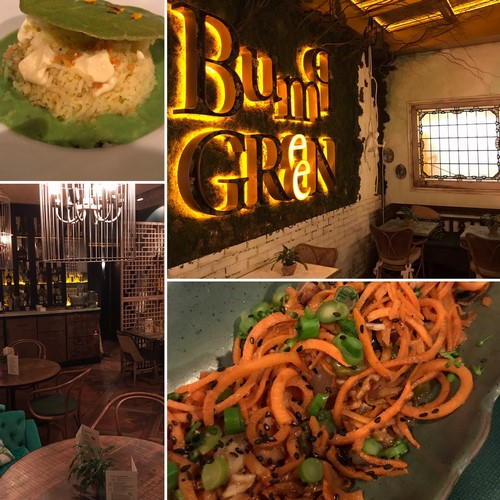 BUMPGREEN | Cocina saludable y ecológica en local con encanto