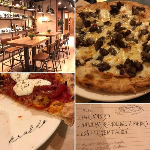 ARALDO | Pizzas de Verona en local moderno y céntrico