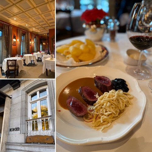 HORCHER | Elegancia y lujo en salón histórico de alta cocina centro-europea