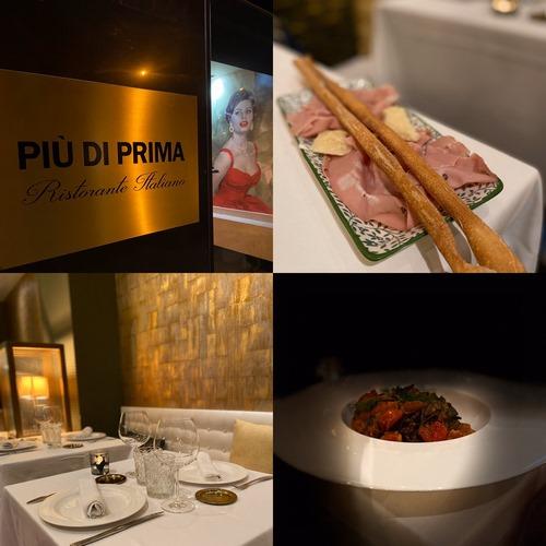 PIÙ DI PRIMA | Clásico restaurante italiano reubicado junto al Parque del Oeste
