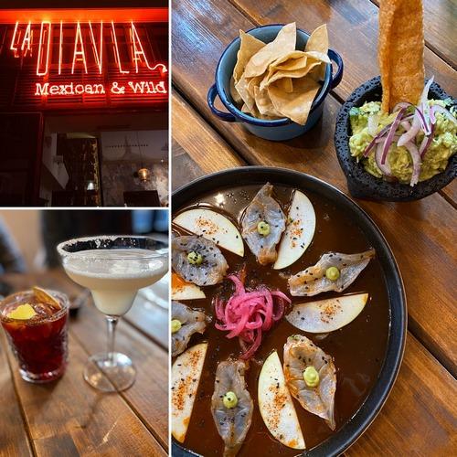 LA DIAVLA | Muy buena oferta mexicana junto al Retiro