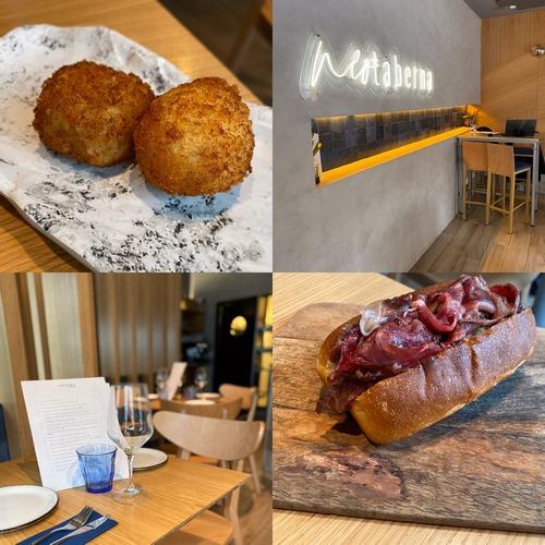 SANTERRA NEOTABERNA | Cocina viajera con bases castizas