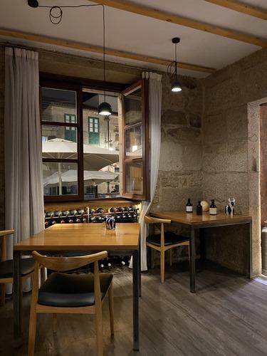 EIRADO DA LEÑA (Pontevedra) | Cocina gallega actualizada en casa histórica