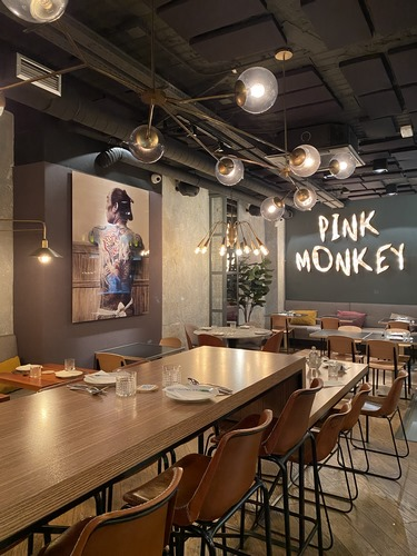 Restaurante Pink Monkey Madrid